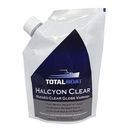 TotalBoat Halcyon Rugged Gloss Varnish Clear